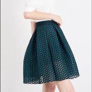 multicolor mini skirt